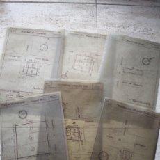 Documentos antiguos: PLANOS DE CONSTRUCCION DE BARCELONA. Lote 174058898