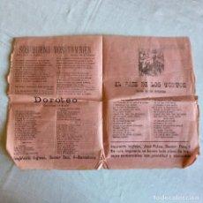Documenti antichi: PUBLICACION RÉPUBLICA ESPAÑOLA AÑOS 30 CON LETRAS DE CANCIONES DE LA ÉPOCA, BANDOLERO POR AMOR.... Lote 174452592