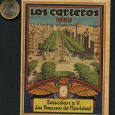 Documentos antiguos: REPÚBLICA ESPAÑOLA, CUADERNO, LOS CARTEROS, 1935, TARIFAS Y SERVICIOS POSTALES. Lote 174506264