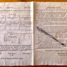 Documentos antiguos: JUDICIAL- CIRCULAR REINADO FERNANDO VII- BENITO GIMBERNAT- ESCRIBANO DE CAMARA- 1.814. Lote 174587067