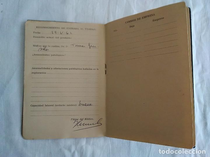 Documentos antiguos: 9-ANTIGUA CARTILLA SANITARIA DE TABACALERA, GIJON, sin fecha - Foto 6 - 174951328