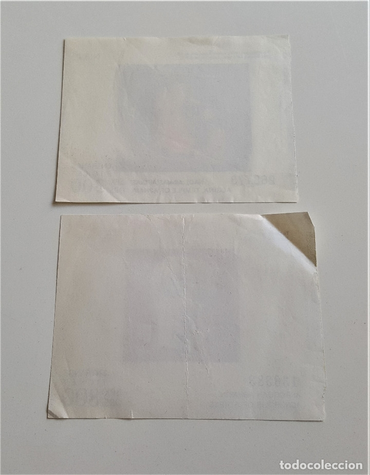 Documentos antiguos: DOS ANTIGUAS ENTRADAS TICKETS A MUSEOS EN ATENAS - Foto 6 - 175235408