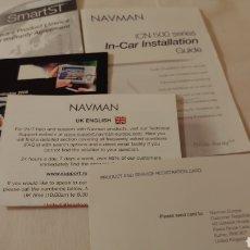 Documentos antiguos: INSTRUCCIONES GPS NAVMAN. Lote 175301013
