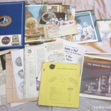 Documentos antiguos: FOTOGRAFÍAS Y DOCUMENTOS DE LAS MISIONES A LA LUNA APOLO. FRESNEDILLAS. MOON SPAIN SPACE MISSION. Lote 175594074