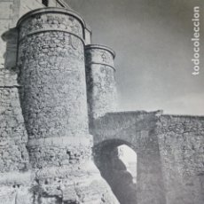 Documentos antiguos: CHINCHILLA ALBACETE FORTALEZA ANTIGUA LAMINA HUECOGRABADO AÑOS 60. Lote 175846077