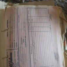 Documentos antiguos: LOTE PAPELES Y DOCUMENTOS ANTIGUOS SIN REVISAR. Lote 176011480
