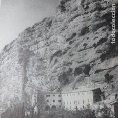 Documentos antiguos: SAN COSME Y SAN DAMIAN HUESCA LAMINA AÑOS 60 LAMINA AÑOS 60. Lote 176026963