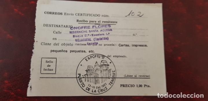 Correos Envio Certificado Puerto De La Cruz Tenerife