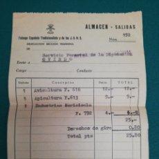 Documentos antiguos: FALANGE ESPAÑOLA TRADICIONALISTA Y DE LAS J.O.N.S.. Lote 176464378