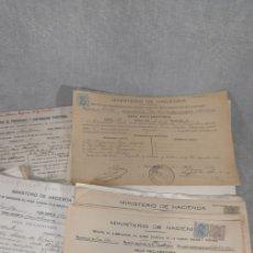 Documentos antiguos: LOTE DOCUMENTOS CATASTRALES AÑOS 1900-1940 . Lote 177278594