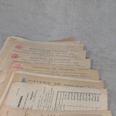 Documentos antiguos: LOTE X 30 DOCUMENTOS CATASTRALES PILAS. Lote 177279435