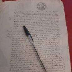 Documentos antiguos: 1848 SAN JUAN VILLARONTE VENTA LUGO. Lote 177565258
