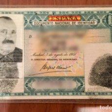 Documentos antiguos: DNI DOCUMENTO NACIONAL IDENTIDAD VERDE EXPEDIDO EN LÉRIDA EN 1956. NACIDO EN 1886. Lote 177617437