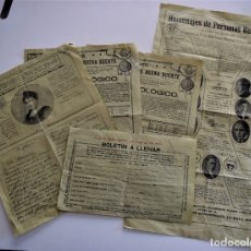 Documentos antiguos: PUBLICIDAD AÑOS 20 DEL FAMOSO ASTRÓLOGO ROXROY STUDIOS DE LA HAYA EN ESPAÑOL - UNA MARAVILLA. Lote 178136553
