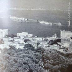 Documentos antiguos: PALMA DE MALLORCA VISTA ANTIGUA LAMINA HUECOGRABADO AÑOS 50. Lote 178613048