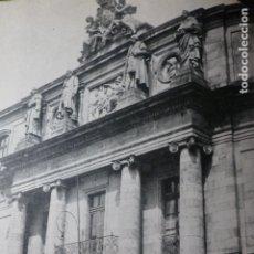 Documentos antiguos: SANTIAGO DE COMPOSTELA UNIVERSIDAD ANTIGUA LAMINA HUECOGRABADO AÑOS 40. Lote 178649425