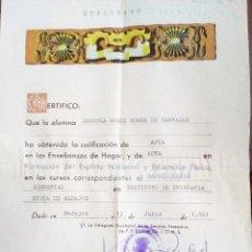 Documentos antiguos: CARTILLA SERVICIO SOCIAL AJUSTE DE LOS TRABAJOS - FALANGE ESPAÑOLA TRADICIONALISTA Y DE LAS J.O.N.S.. Lote 179010433