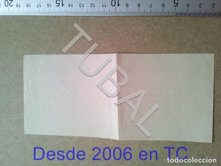 Documentos antiguos: TUBAL GURB VICH 1958 hermandad sindical LABRADORES Y GANADEROS RECIBO ENVIO 70 CENT 2019 B05 - Foto 2 - 179243892