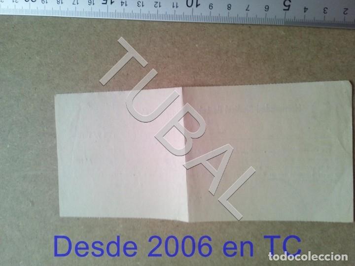 Documentos antiguos: TUBAL GURB VICH 1958 hermandad sindical LABRADORES Y GANADEROS RECIBO ENVIO 70 CENT 2019 B05 - Foto 2 - 179243926