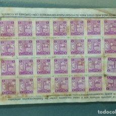 Documentos antiguos: CUPONES FLORESTA. CARTILLA.. Lote 179332157