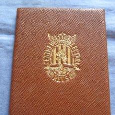 Documentos antiguos: TITULO DE SOCIO Y REGLAMENTOS CENTRE LECTURA DE REUS - AÑO 1934. Lote 179390161