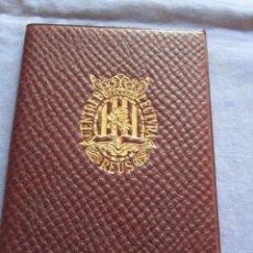 Documentos antiguos: TITULO DE SOCIO Y REGLAMENTOS CENTRE LECTURA DE REUS - AÑO 1934. Lote 179390203