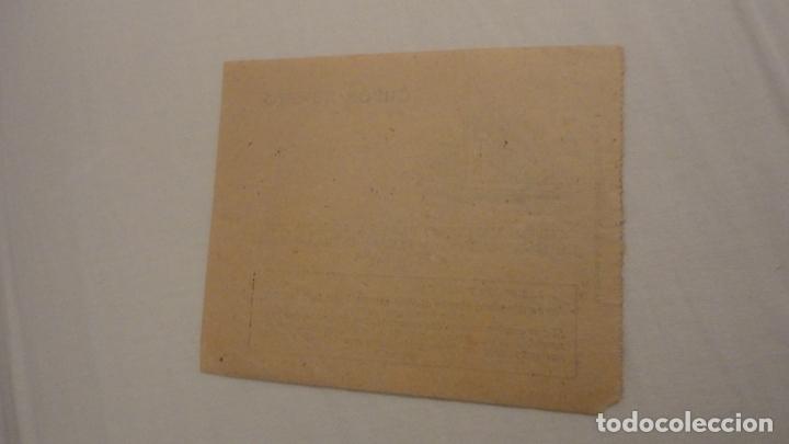 Documentos antiguos: ANTIGUO CUPON ADQUISICION PLUMA ESTILOGRAFICA CASA SANCU.BADAJOZ.LA MINERVA EXTREMEÑA - Foto 2 - 180080498