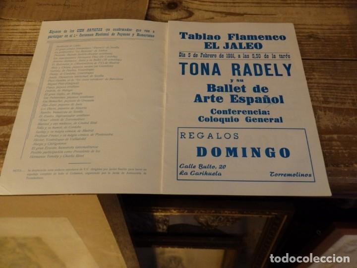 Documentos antiguos: TORREMOLINOS, 1981, PROGRAMA 1º CERTAMEN NACIONAL DE PAYASOS Y HUMORISTAS,RARO, 8 PAGINAS - Foto 2 - 180121246