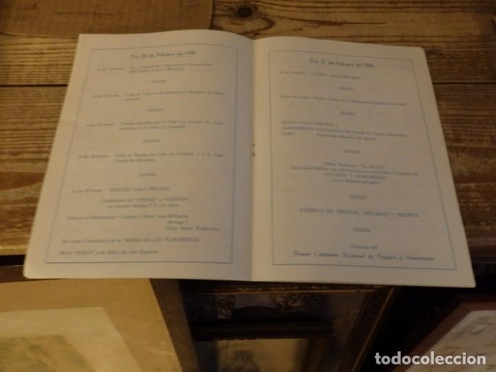 Documentos antiguos: TORREMOLINOS, 1981, PROGRAMA 1º CERTAMEN NACIONAL DE PAYASOS Y HUMORISTAS,RARO, 8 PAGINAS - Foto 3 - 180121246