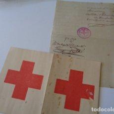 Documentos antiguos: CRUZ ROJA ESPAÑOLA. CASTELLÓN. SECCIÓN SEÑORAS. ALTA. 1909 -1910. . Lote 180216870