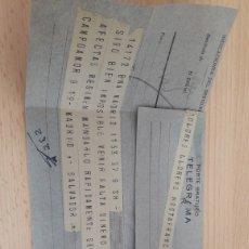 Documentos antiguos: TELEGRAMA 1936. Lote 180223355