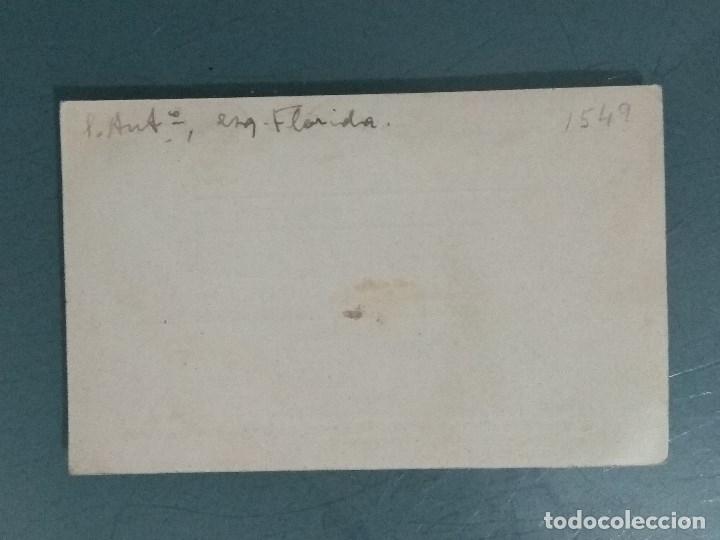 Documentos antiguos: TARJETA COMERCIAL ANTIGUA CASA HOMS. - Foto 2 - 180422765