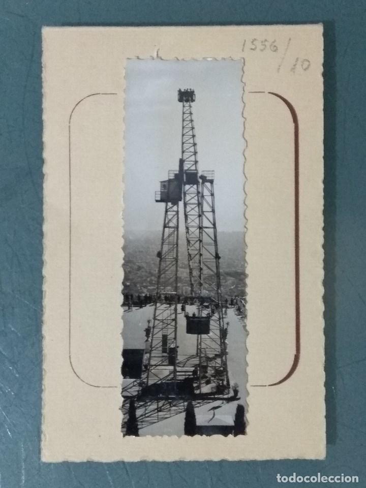 FELICITACIÓN LABORATORIO FOTOGRÁFICO DEL TIBIDABO. AÑO 1955. (Coleccionismo - Documentos - Otros documentos)