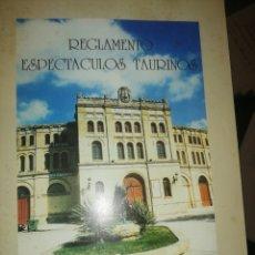 Documentos antiguos: REGLAMENTO ESPECTÁCULOS TAURINOS. TERTULIA TAURINA PORTUENSE. Lote 180507020