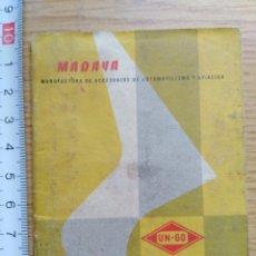 Documentos antiguos: ANTIGUO ALMANAQUE - PUBLICIDAD. Lote 180944806