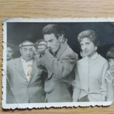 Documentos antiguos: ANTIGUA FOTO DE LA CASETA DE TIRO DE LA FERIA. Lote 180945273