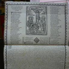 Documentos antiguos: GOIGS DOLOROSOS DE LA SANTA IMATGE DEL SANT CHRISTO DEL HOSPITAL DE SANTA CREU. IMAGINERIA POPULAR.. Lote 180946662