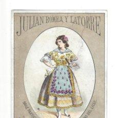 Documentos antiguos: INVITACIÓN BAILE DE MÁSCARAS.- JULIAN ROMEA Y LATORRE. TEATRO LICEO, LIT. GASPAR. BARCELONA- 1880. Lote 181514340