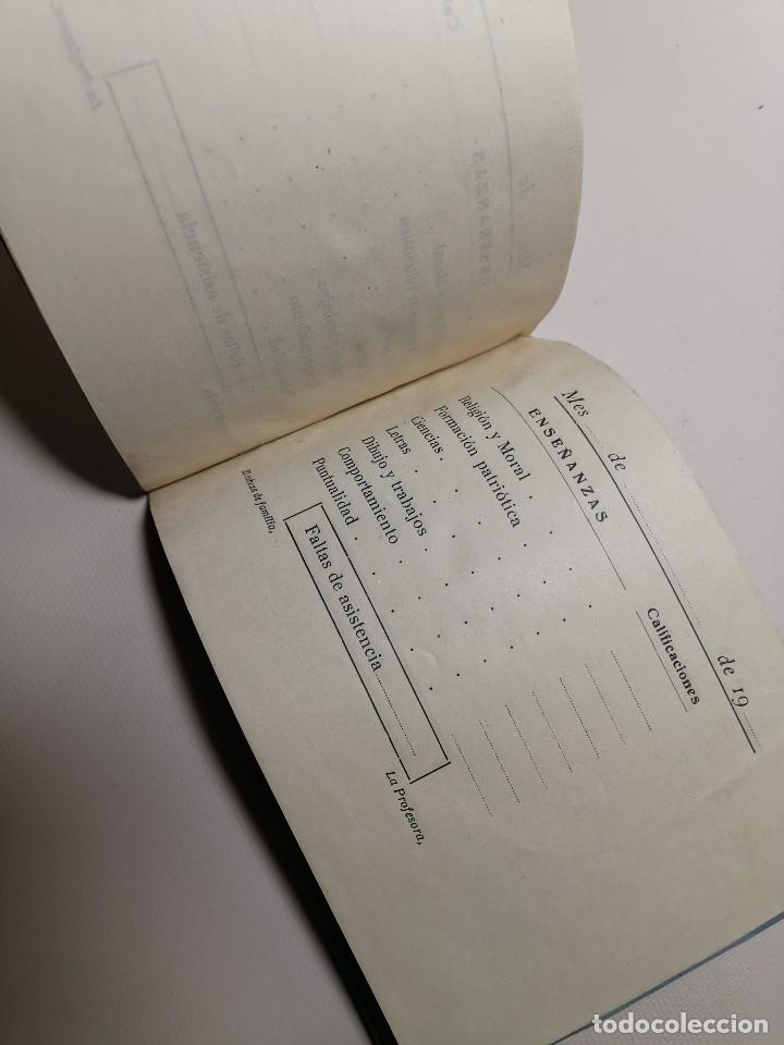 Documentos antiguos: BOLETIN NOTAS- CARTILLA ESCOLAR -COLEGIO SAGRADO CORAZON EL VENDRELL 1949 --REF-ZZ - Foto 3 - 181949798