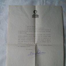 Documentos antiguos: CARTA DIRIGIDA A INTERVENTOR APODERADO UCD . Lote 182165285