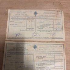 Documentos antiguos: CAJA DE PENSIONES PARA LA VEJEZ Y AHORRO. Lote 182383386