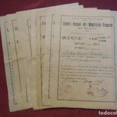 Documentos antiguos: REPUBLICA. ESCUELA NORMAL DEL MAGISTERIO PRIMARIO.MURCIA,1931-39.. Lote 182511748