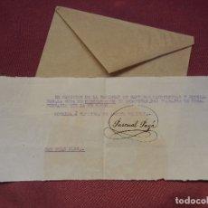 Documentos antiguos: REPUBLICA.NOVELDA.SOCIEDAD DE CANTEROS,MARMOLISTAS Y SIMILARES.22/8/1932.. Lote 182618352