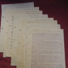 Documentos antiguos: ELCHE.CARTAS DE MAYO A SEPTIEMBRE 1937 A UN CAMARADA DE NOVELDA.INTERESANTE LOTE DE 8 CARTAS.. Lote 182618816