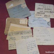 Documentos antiguos: MAGNIFICO E INTERESANTE LOTE 10 CARTAS,REFUGIADO ESPAÑOL,CAMPOS DE TRABAJO EN FRANCIA,ETC,1939-1945. Lote 182619695
