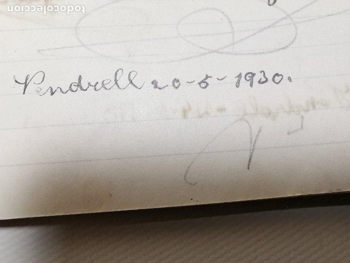 Documentos antiguos: CUADERNO LIBRETA EL COLEGIO HERMANOS CARMELITAS DE LA ENSEÑANZA DE EL VENDRELL 1930-- REF-ZZ - Foto 2 - 183090470