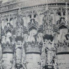Documentos antiguos: TOLEDO SAN JUAN DE LOS REYES ANTIGUA LAMINA HUECOGRABADO. Lote 183252752
