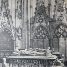 Documentos antiguos: TOLEDO CATEDRAL CAPILLA ANTIGUA LAMINA HUECOGRABADO. Lote 183253632