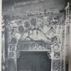 Documentos antiguos: TOLEDO PORTADA ANTIGUA ANTIGUA LAMINA HUECOGRABADO. Lote 183253693