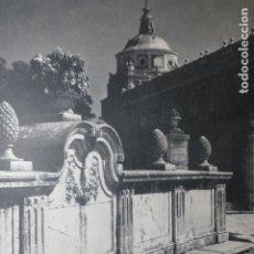 Documentos antiguos: ARANJUEZ MADRID PALACIO ANTIGUA LAMINA HUECOGRABADO. Lote 183255338
